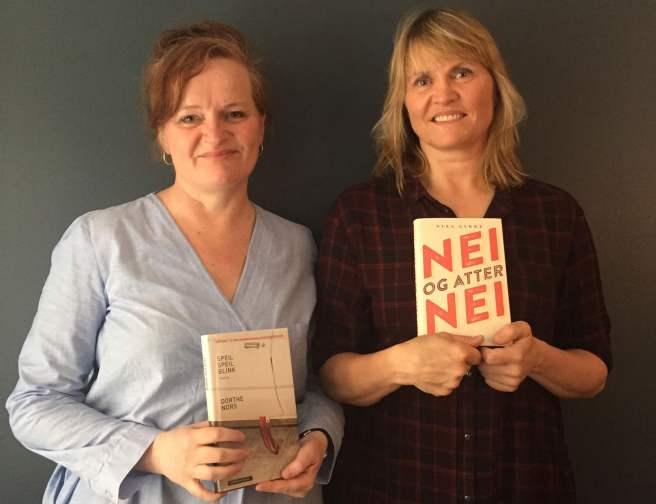 Dorthe Nors og Nina Lykke